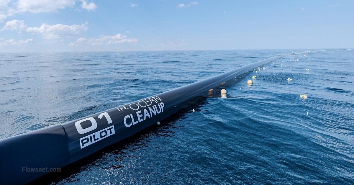 Projekts atkritumu savākšanai okeānā