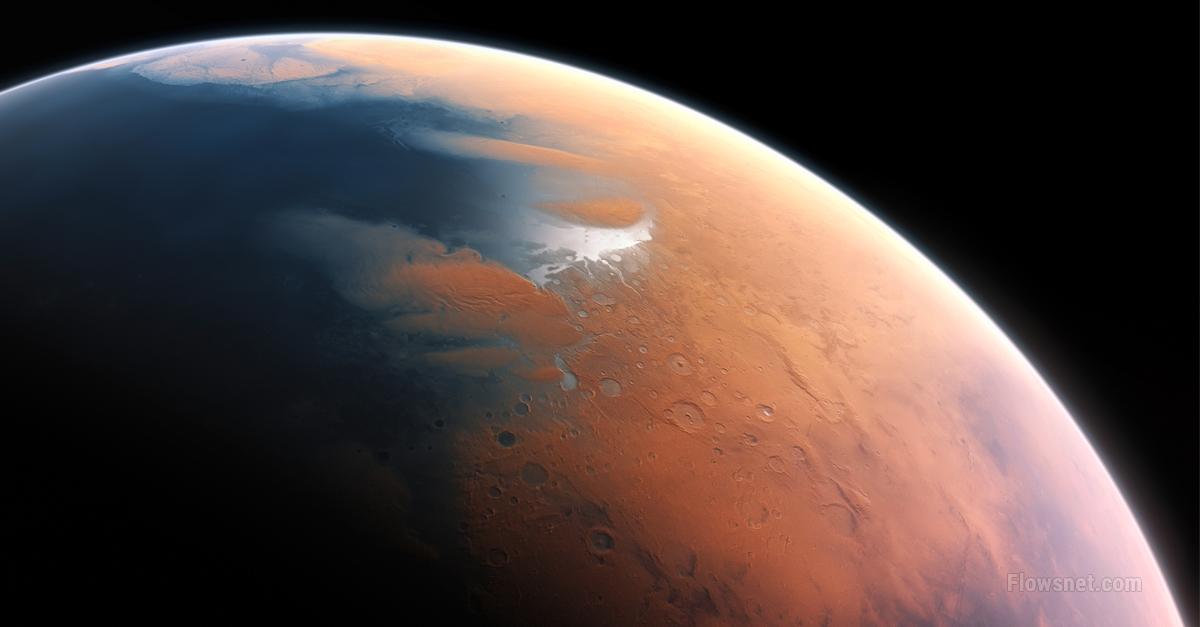 Uz Marsa pirmo reizi atklāts ezers