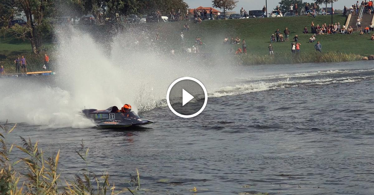 Ātrumlaivu sacensības Jelgavā 01.09.2018